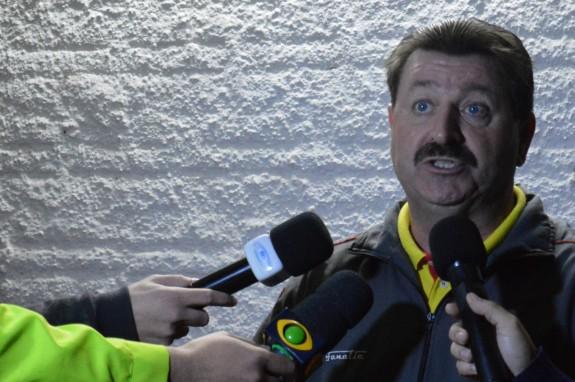 Para Leandro Campos, a culpa é sempre da imprensa.