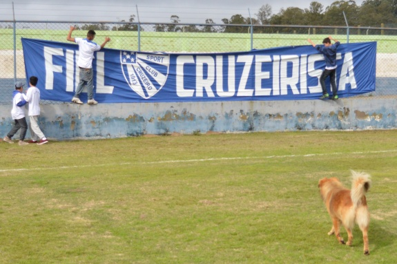 Gurizada Fiel Cruzeirista. (Foto: Lucas Gabriel Cardoso)
