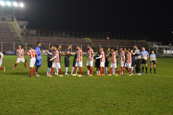 O jogo do primeiro turno, no Vale do Itajaí, terminou 2 a 0 para o Brusque. (Foto: Lucas Gabriel Cardoso)