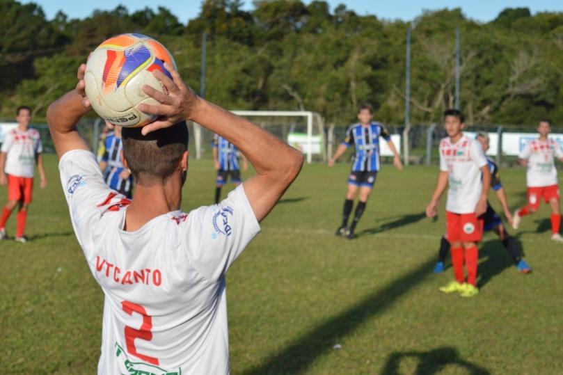 VT Canto entrou com a vantagem de jogar pelo empate, após a vitória por 2 a 1 no jogo de ida. (Foto: Lucas Gabriel Cardoso)