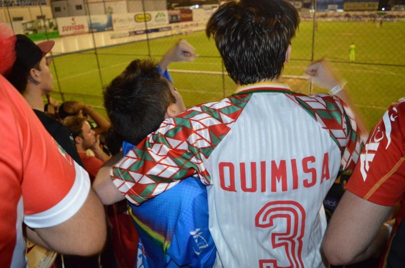 Gol do João Neto levou a torcida a um misto de loucura e alívio. (Foto: Lucas Gabriel Cardoso)