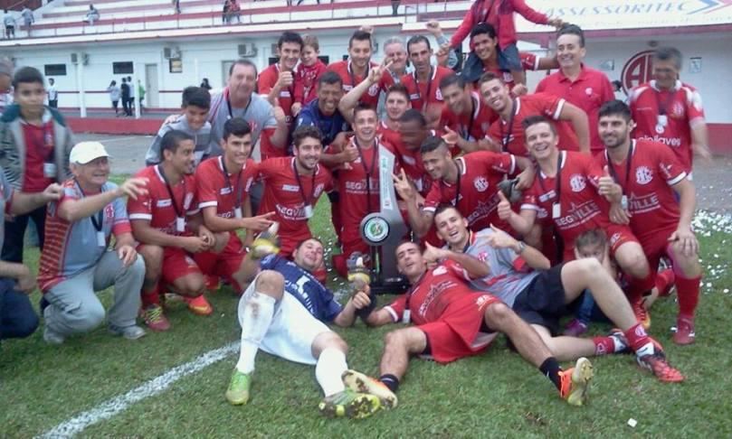 América campeão da Copa Norte 2015. (Foto: Facebook/América Futebol Clube)