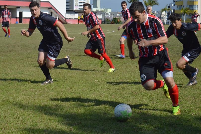 Clube do Passa Vinte começou metendo pressão. (Foto: Lucas Gabriel Cardoso)
