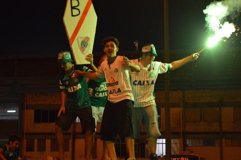 Recepção Chapecoense x River Plate