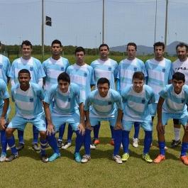 O Grêmio entrou em campo com Jailson; Mael, Robson, Alex e Weullesson; Rafael, Carlos Eduardo, Leon e Luiz Taffarel; Douglas Cesar e Tita. (Foto: Lucas Gabriel Cardoso)