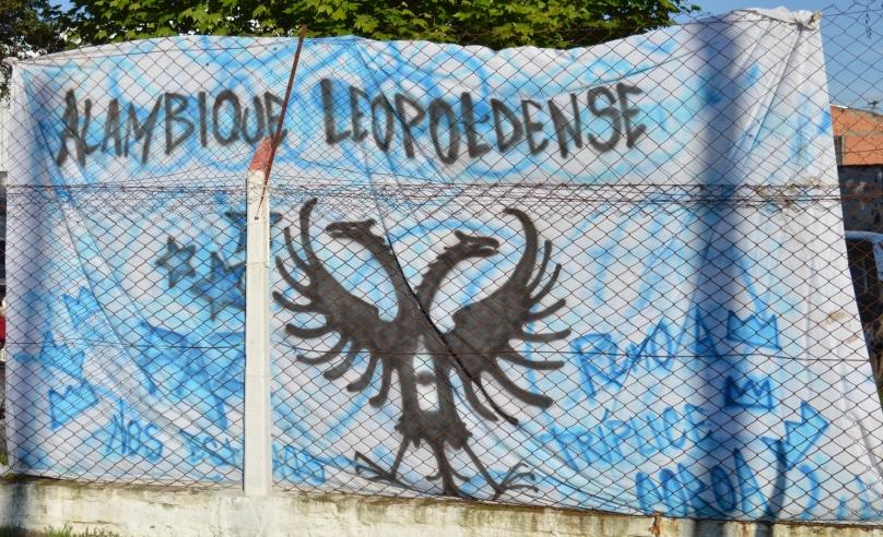 Alambique Leopoldense, rumo à tríplice coroa, que além do Municipal e do Gauchão, sinceramente não sei qual seria o outro título. (Foto: Lucas Gabriel Cardoso)