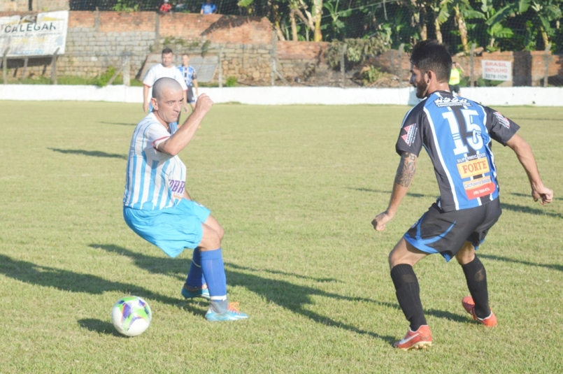 Felipe Rosino também entrou bem pelo lado tricolor. (Foto: Lucas Gabriel Cardoso)