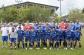 Os onze iniciais do Atlético: André; Radamés, Alceni, Chico e Marcão; Duda, Quinho, Juninho e Rafael Carioca; Vini e Maxwell. (Foto: Lucas Gabriel Cardoso)