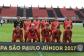 O Rio Branco, comandado por Vanderson dos Santos, jogou com Thiago; Juninho, Reginaldo, Diego (Alemão) e Nael; Vicente, Caio (Ivo Gois), Carioca (Pepê), Rocha e Nego; Fernando (João Paulo). (Foto: Lucas Gabriel Cardoso)