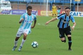 Guga é um dos destaques dos juniores do Avaí nesse começo de temporada. (Foto: Lucas Gabriel Cardoso)
