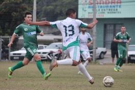Maycon entrou muito bem na partida. Foi dos pés deles que saiu a assistência para o segundo gol. (Foto: Lucas Gabriel Cardoso)